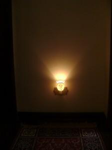Luz de tomada