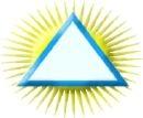 triângulo com trigramas