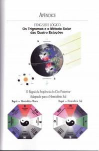 ilustração livro feng shui lógico hemisférios norte e sul
