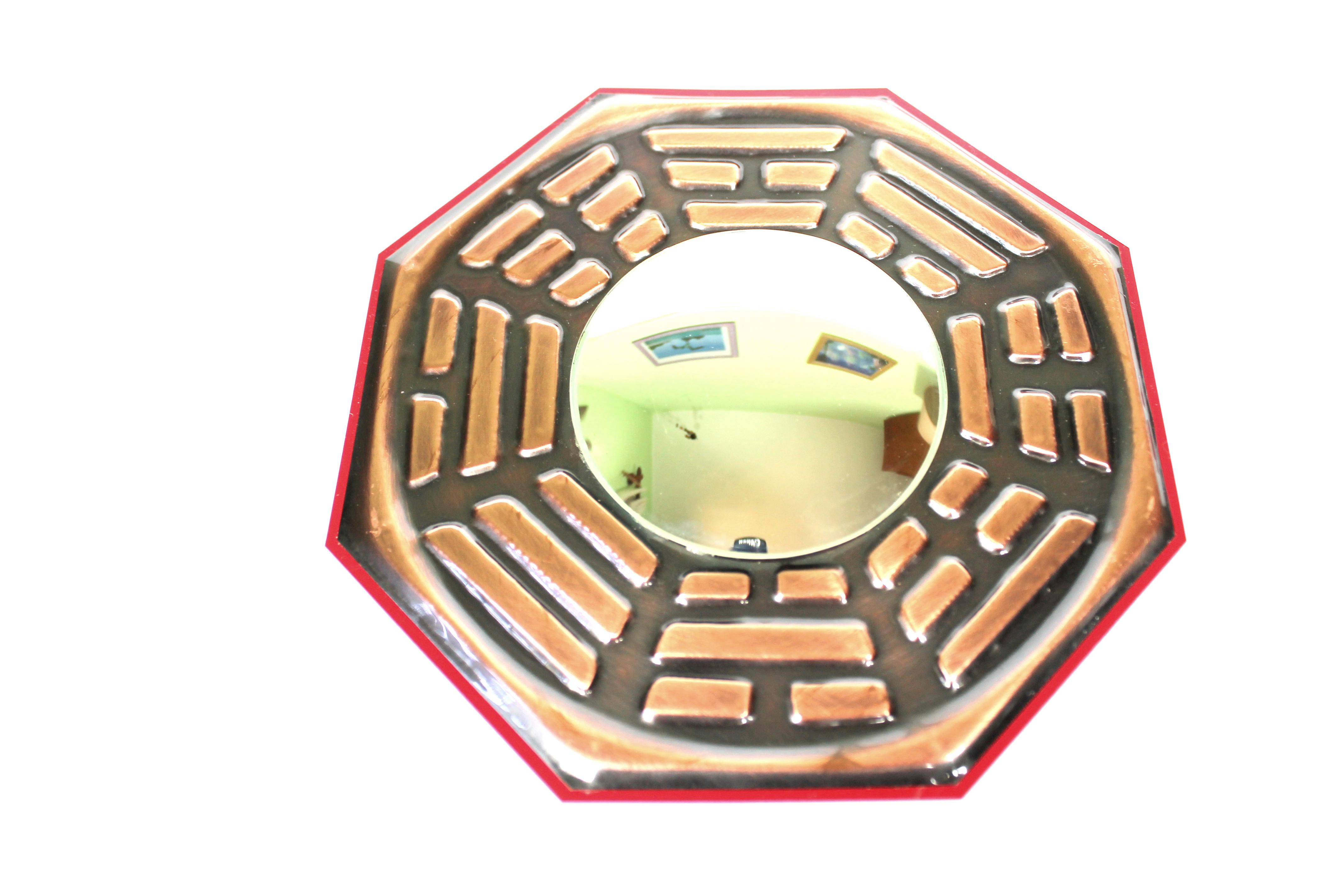 Ba-guá Espelho Convexo Hemisfério Sul