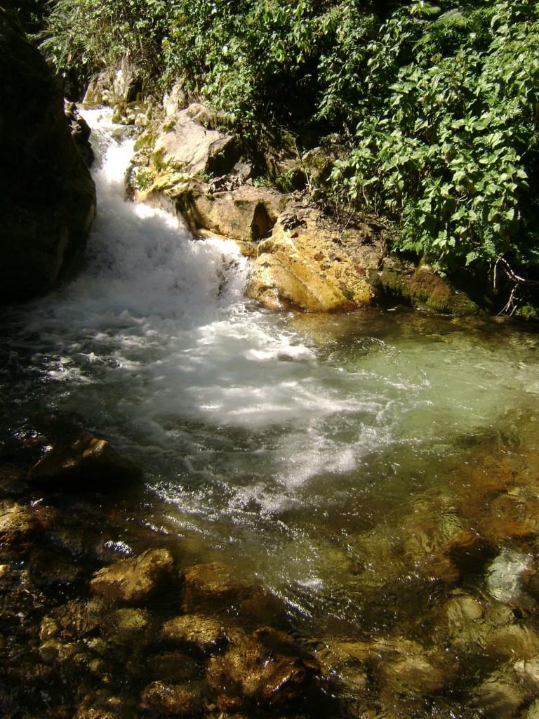 emoções serenas como as águas cristalinas